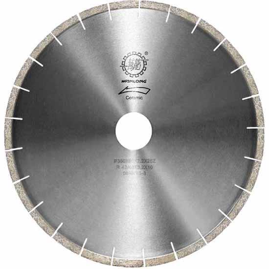 алмазный диск и сегмент Форма вент  илятора