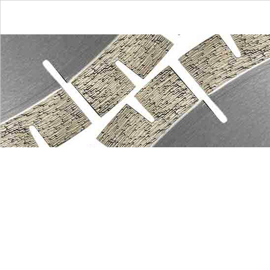edge cutting blade,granite cutting blade,segmented cutting blade for granite,V shape diamond segment for saw blade,wanlong diamond segmented circular saw blade