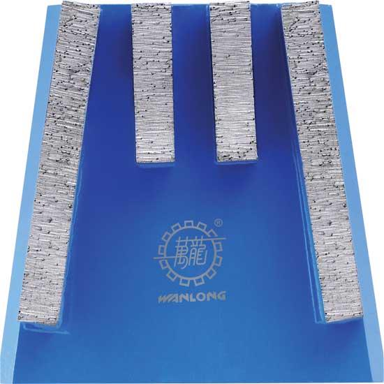 Металлообрабатывающий блок подковообразной формы