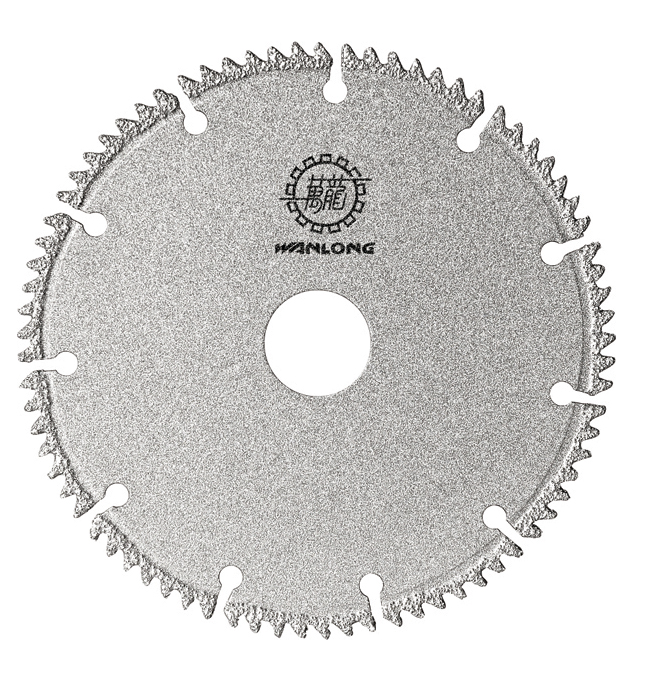 Vacuum Brazed Teeth Segmented Saw Blade