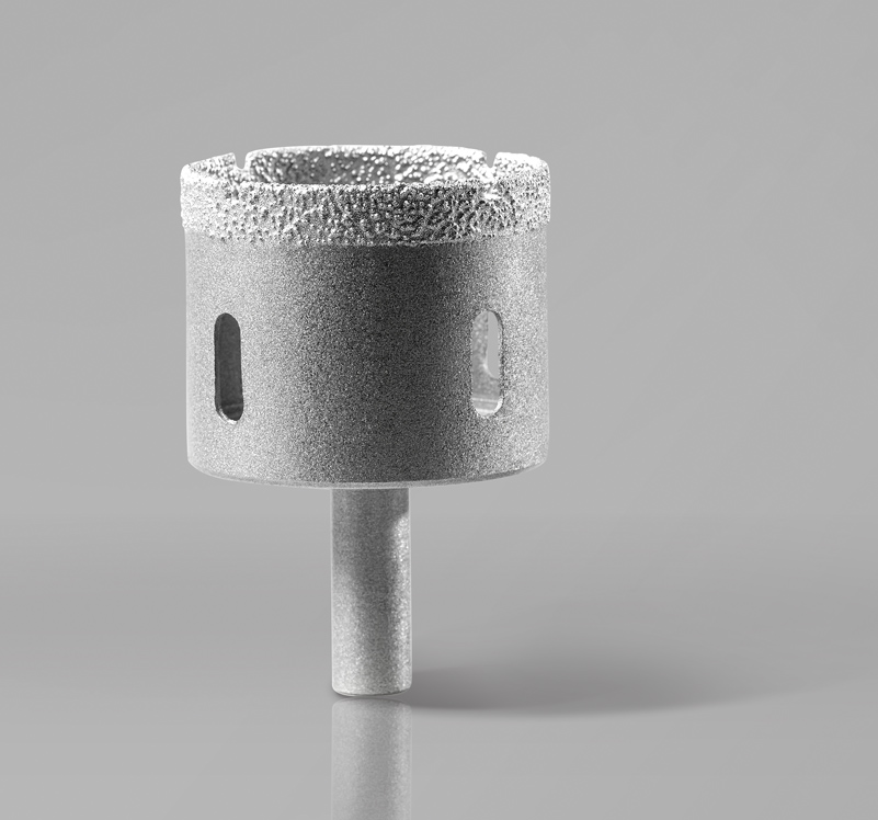 Vacuum Brazed Wet Core Drill Bit