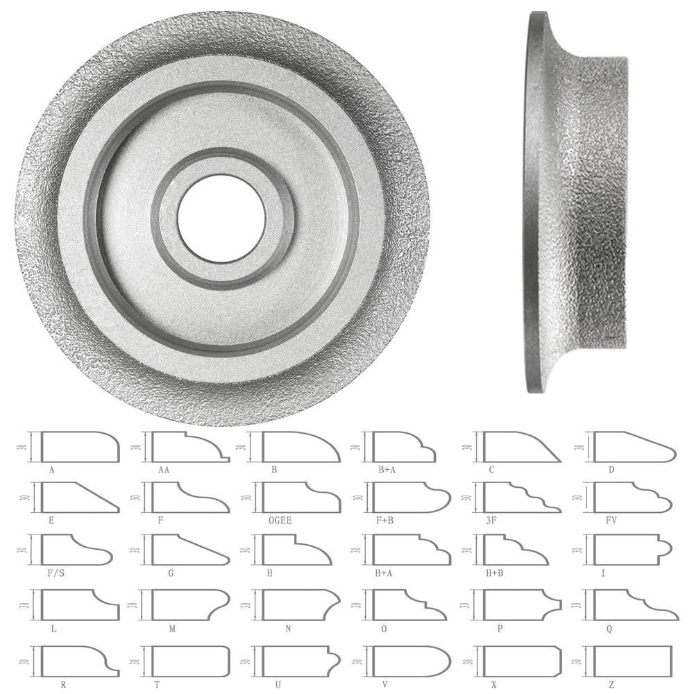 Vacuum brazed Grinding Wheel