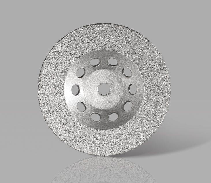 Vacuum Brazed Cup Grinding Wheel