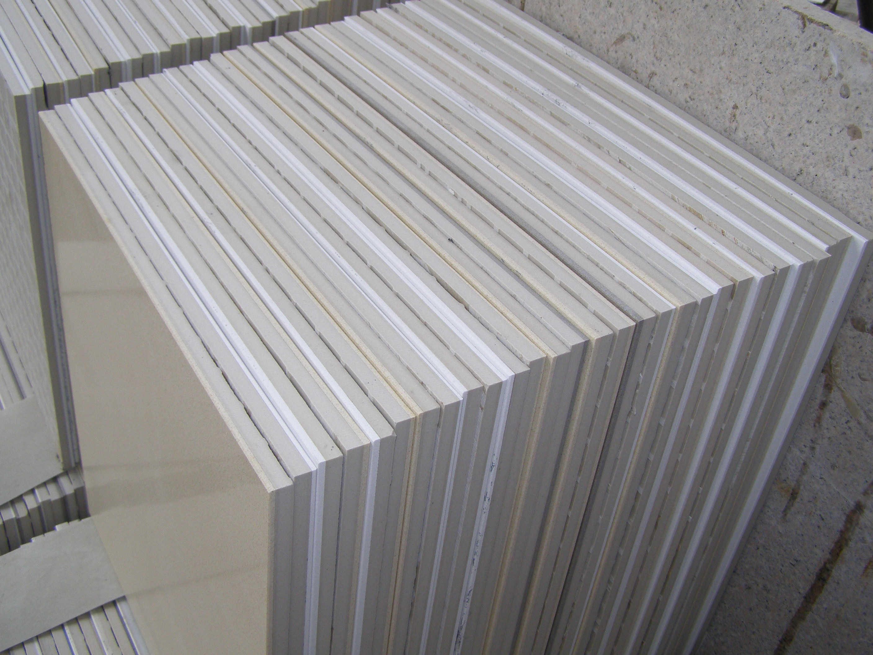 Ceramic Backed Marble Tile