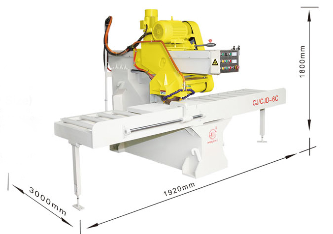 CJ/CJD-6C Stone Sawing Machine(Setting Size)