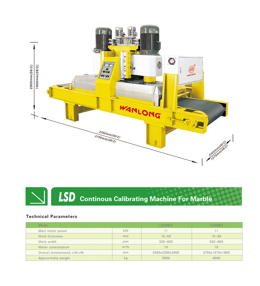 Continous Calibrating Machinery For Marble,marble calibrating machinery,stone calibrating machinery for marble,Continous calibrating machinery,wanlong stone machine