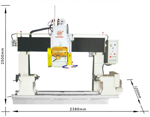 YFQ-700 Brige-type Bidirectional Cuts Machine