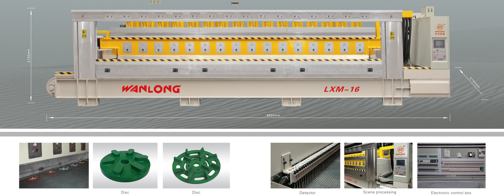 LXM-16/20 Fully-automatic Polishing Machine