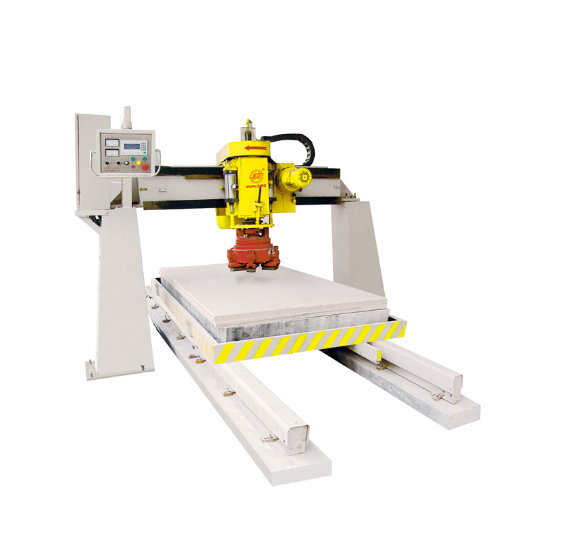 bridge single head automatic polisher,stone polishing machinery,stone polisher,bridge polishing machine,marble polishing machinery,granite polishing machinery,manmade stone polishing machinery,wanlong stone polishing machine
