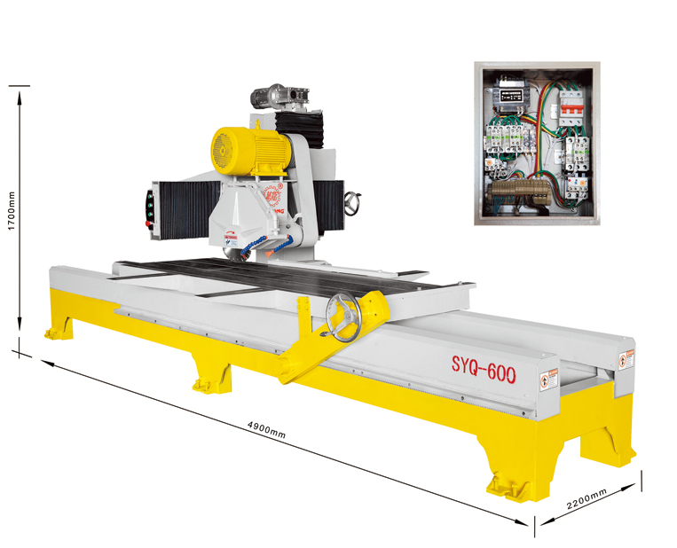 SYQ-600 Manual Edge Cutting Machine