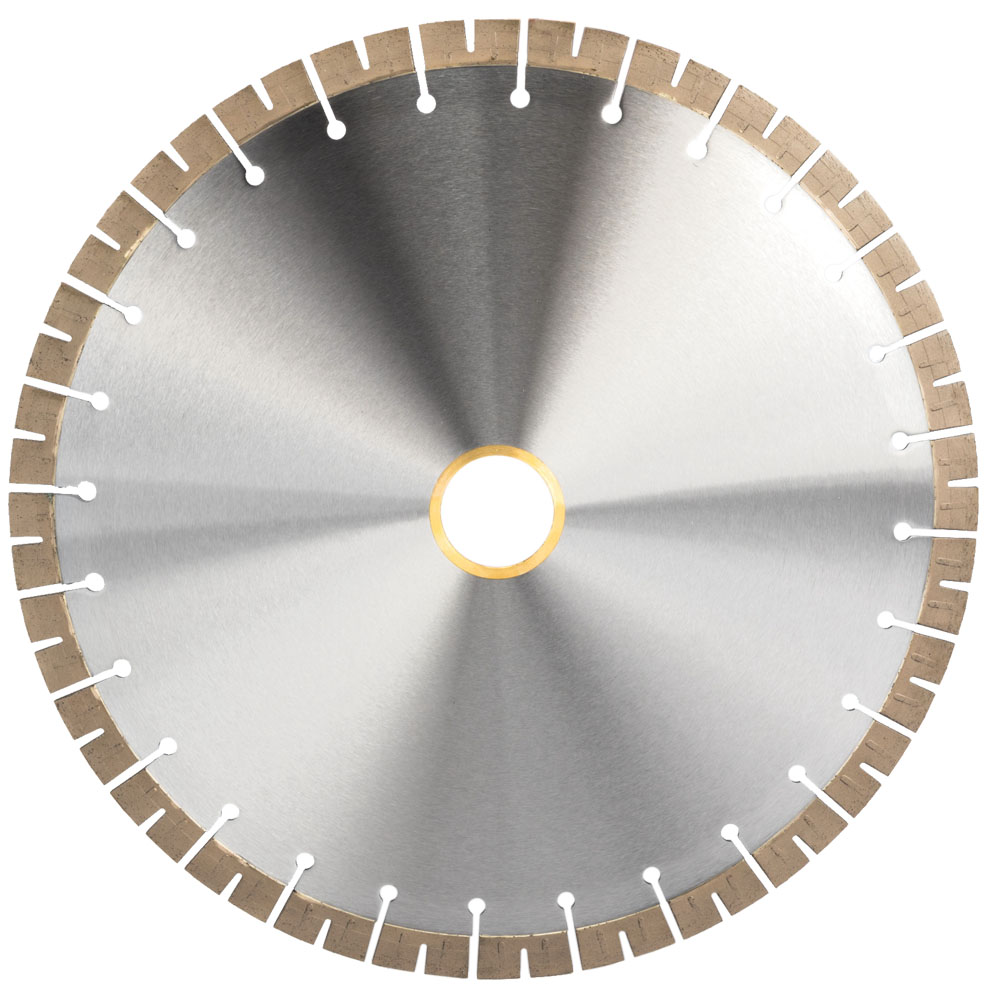 Diamond Blade On Circular Saw For Stone Cutting