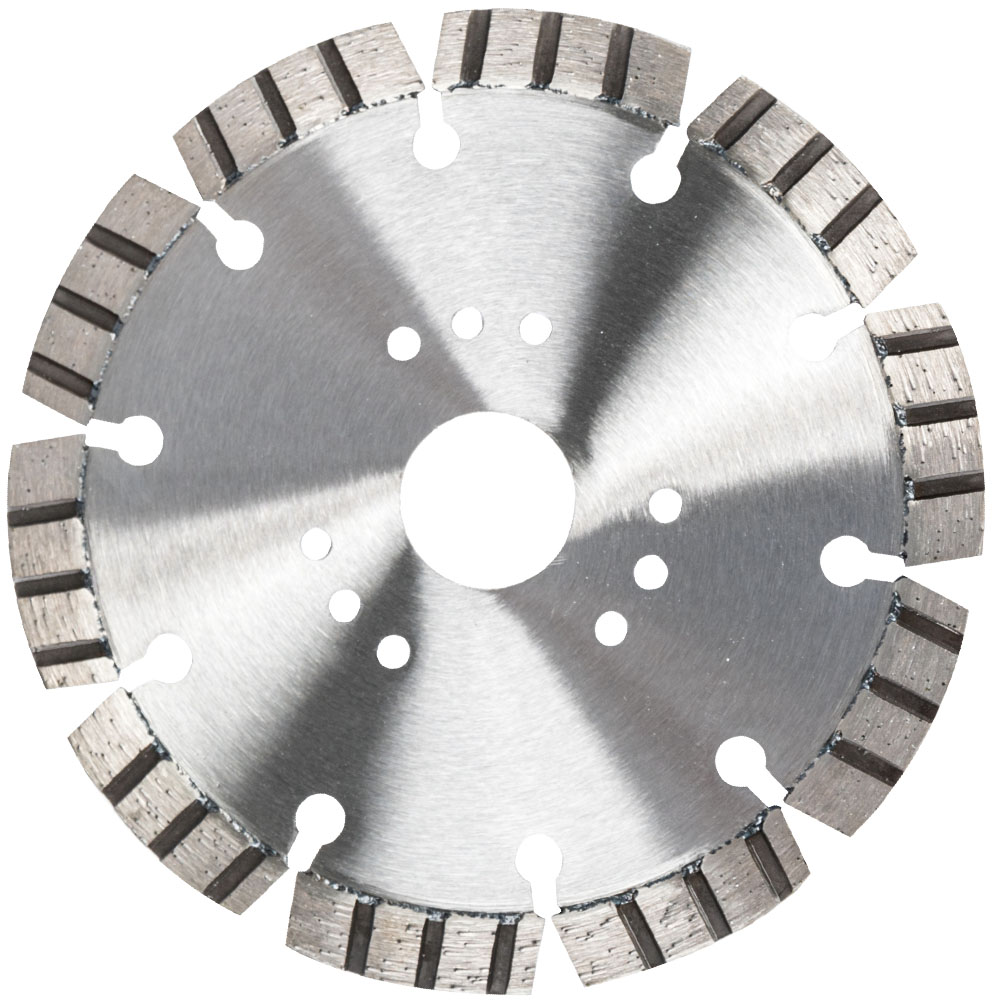 Diamond Wet Cutting Disc On Manual Cutting Machine