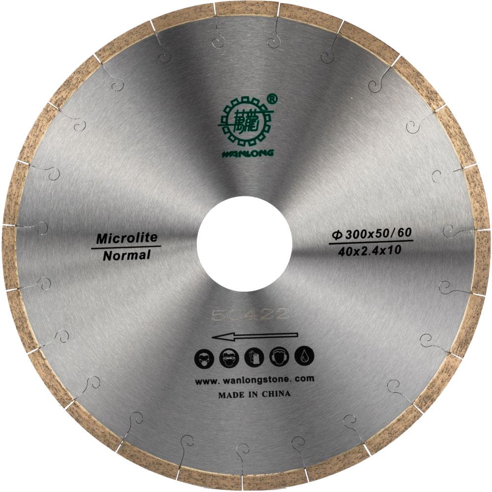 Diamond Circular Saw Blade For Microcrystalline Stone Cutting