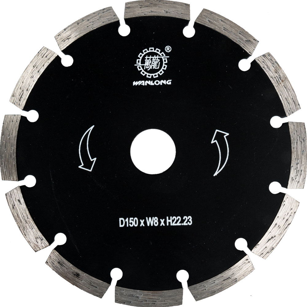 150MM Diamond Tip Blade For Angle Grinder Cutting