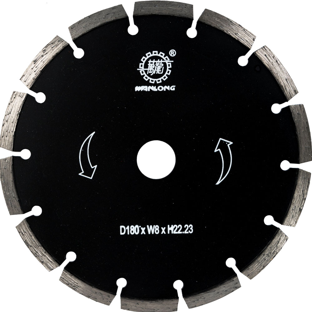 180MM Dry Cutting Diamond Saw Blade For Stone&Tile&Concrete