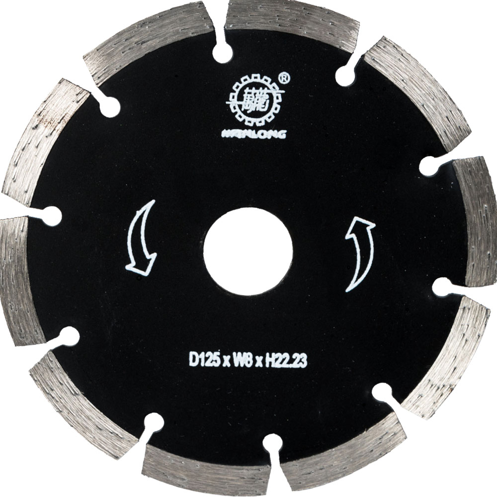 125MM Diamond Arrow Saw Blade For Stone&Concrete Cutting