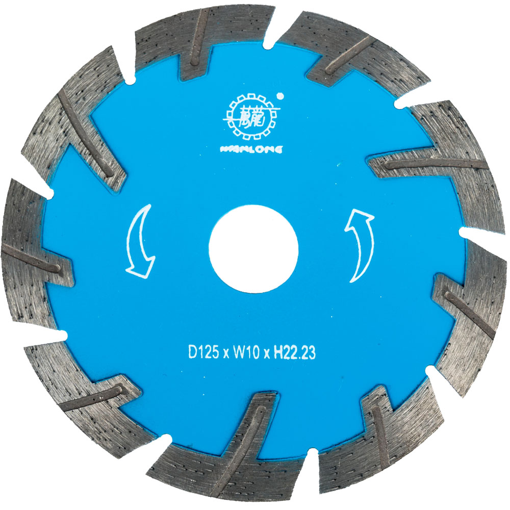 5 Inch Diamond Segmented Turbo Saw Blade For Granite&Marble Cutting