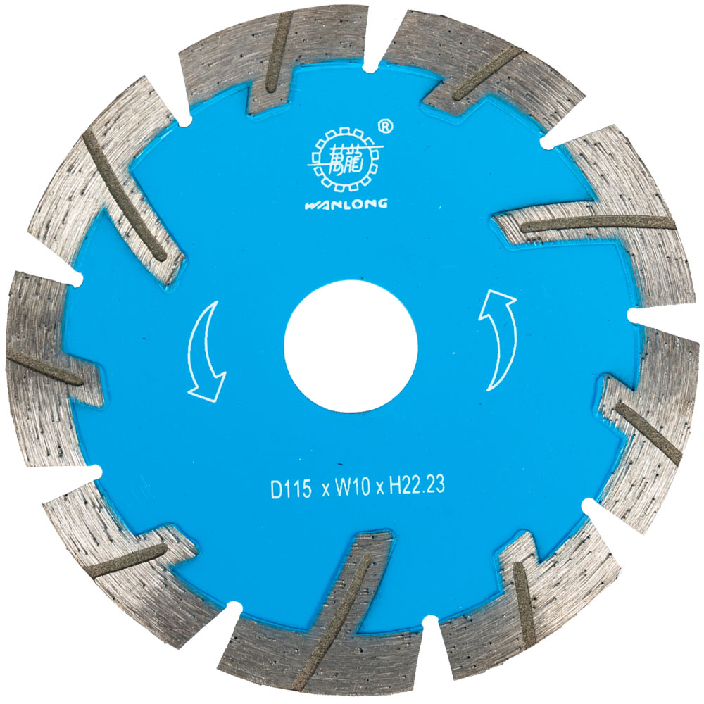 4.5 Inch Diamond Turbo Circular Blade For Stone&Concrete Cutting