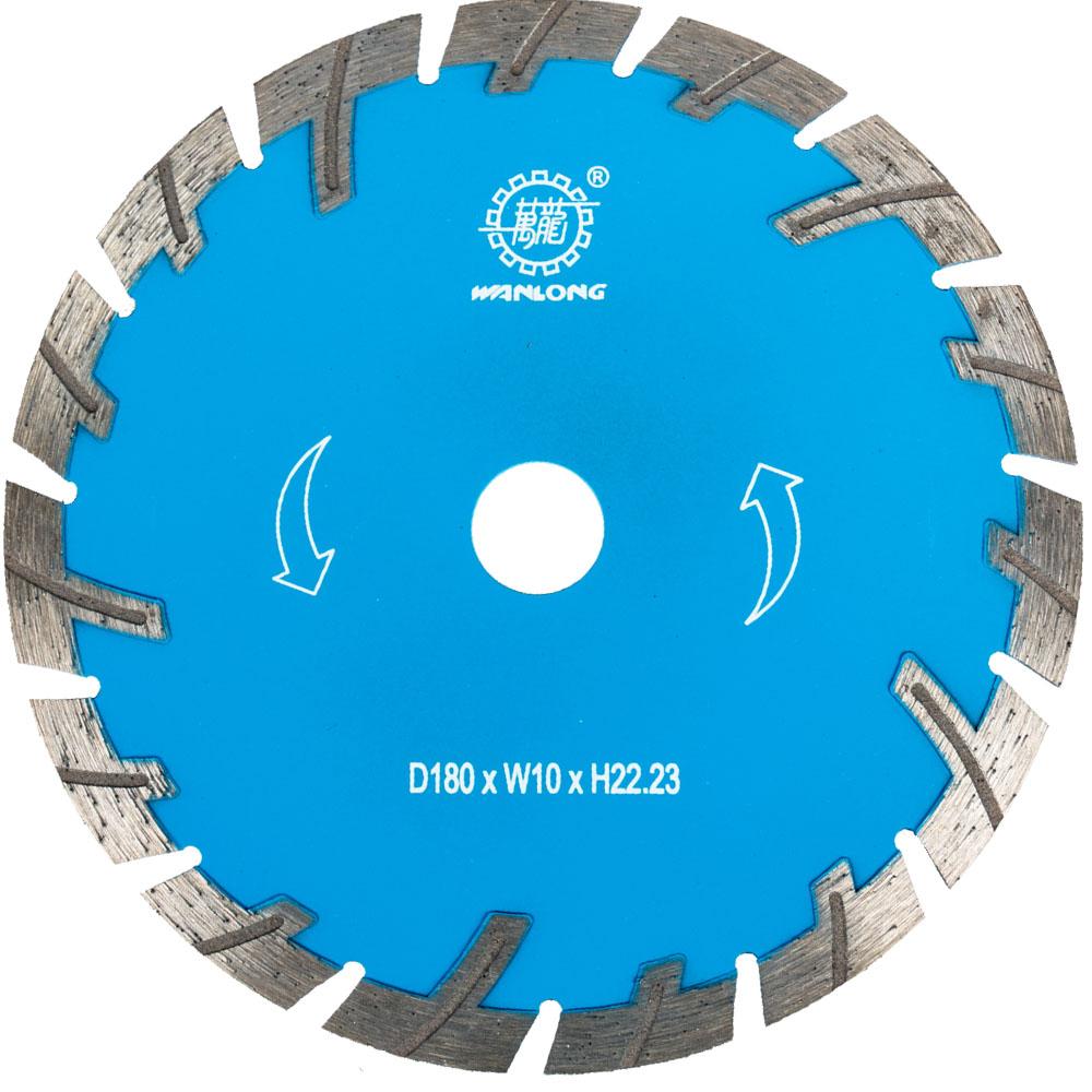 7 Inch Diamond Turbo Cutting Disc For Stone