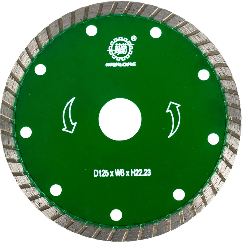 6 Inch Diamond Turbo Saw Blade For Angle Grinder