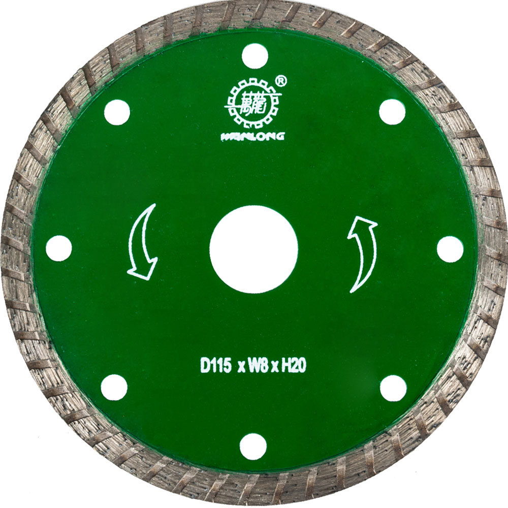 115MM Diamond Turbo Cutting Saw Blade For Dry Cutting