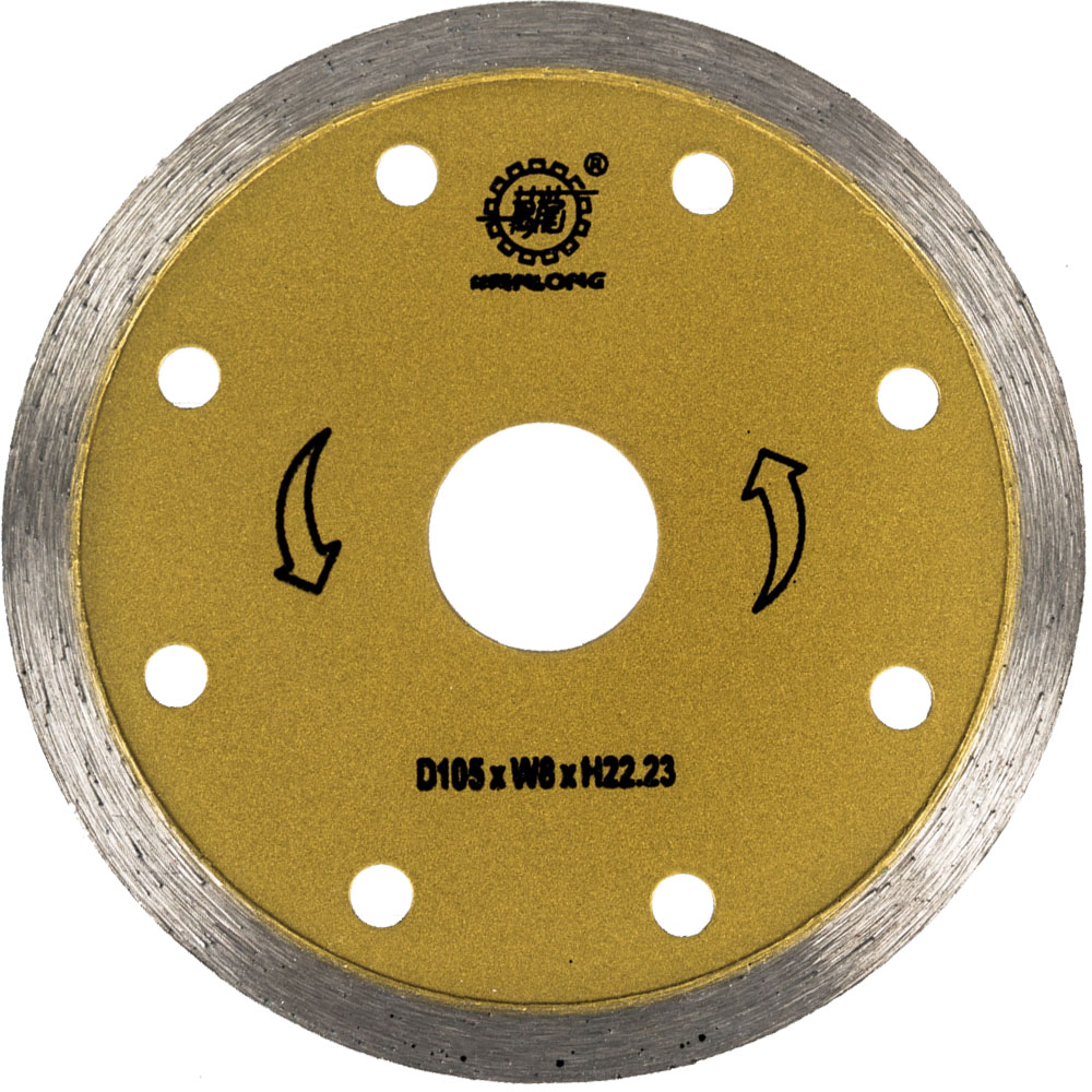 105MM Diamond Continuous Blade For Wet Cutting