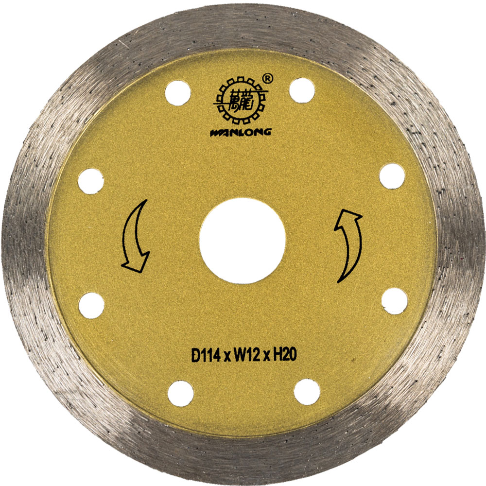 114MM Continuous Cutting Blade for Marble