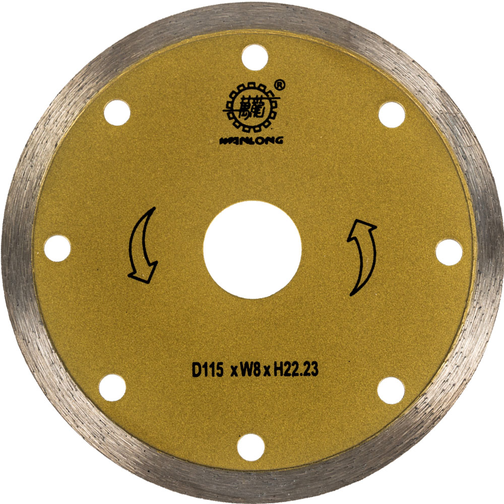 115MM Continuous Diamond Blade For Tile Cutting