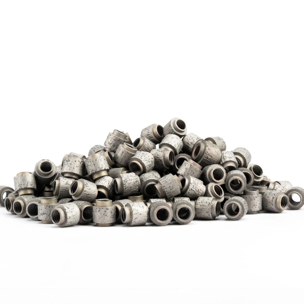 stone cutting wire saw beads,granite cutting wire saw beads,marble cutting wire saw beads