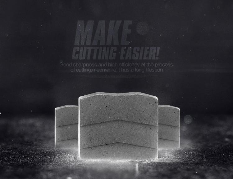 Diamond segment for granite,diamond cutting segment,granite cutting segment,segment diamond