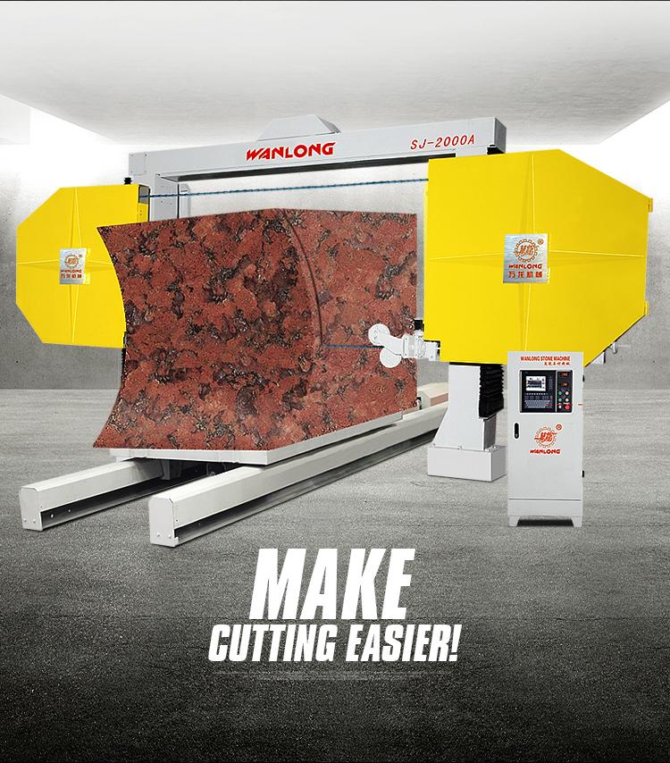 wire saw machine, stone cutting wire saw,  diamond wire cutting machine